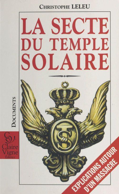 La secte du temple solaire