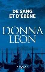 Vente Livre Numérique : De sang et d'ébène  - Donna Leon