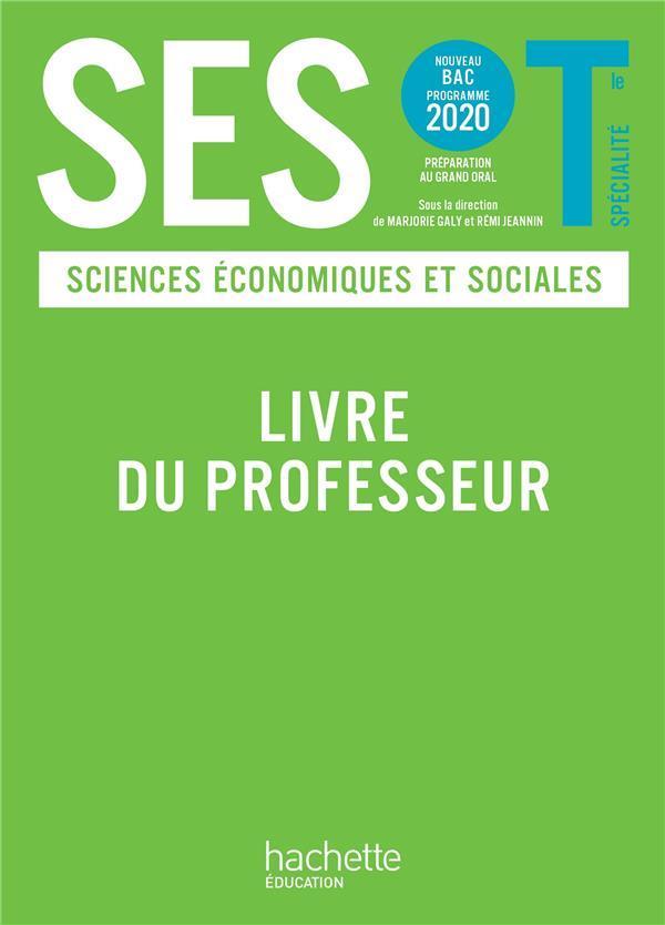 SES ; terminale ; livre du professeur (édition 2020)