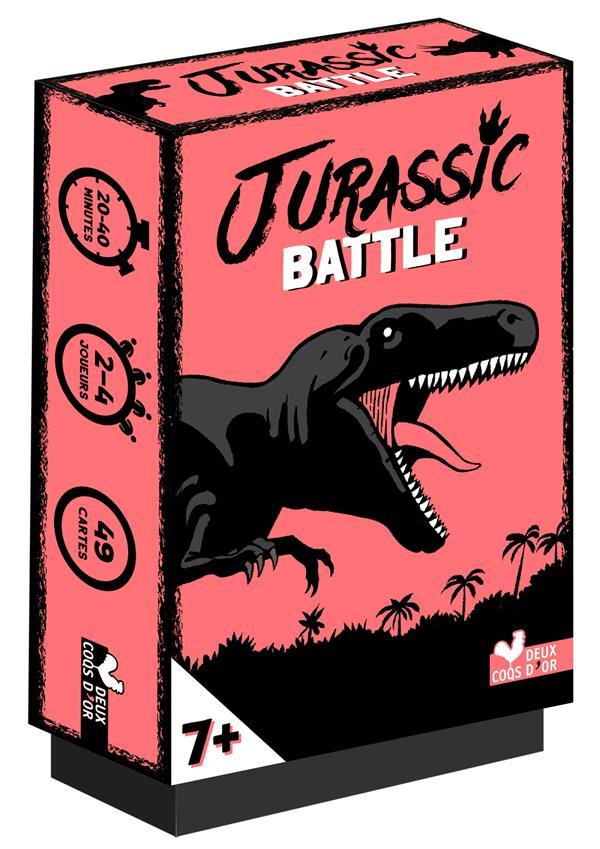 Jurassic battle ; jeu de cartes