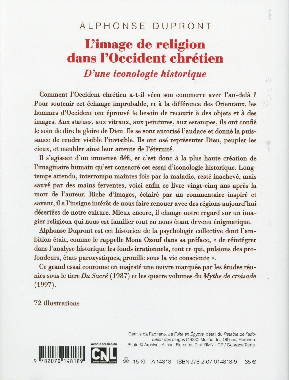 l'image de religion dans l'Occident chrétien