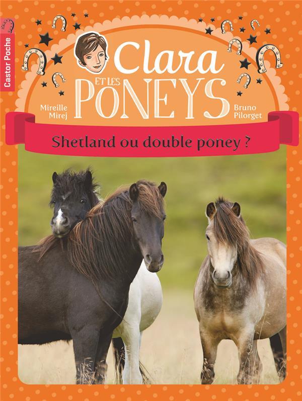 Clara et les poneys t.3 ; Shetland ou double poney ?