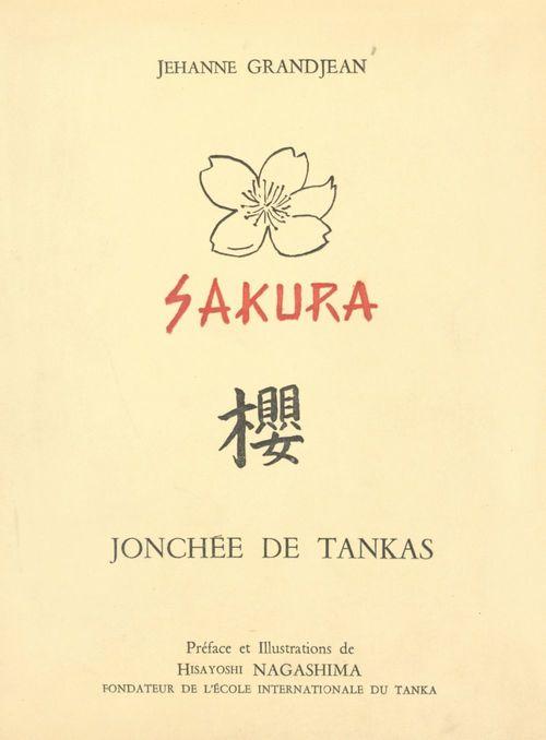 Sakura, jonchée de tankas