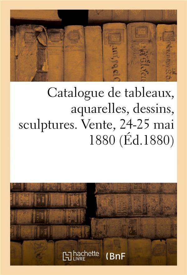 Catalogue de tableaux, aquarelles, dessins, sculptures offerts au profit des ecoles chretiennes - ve
