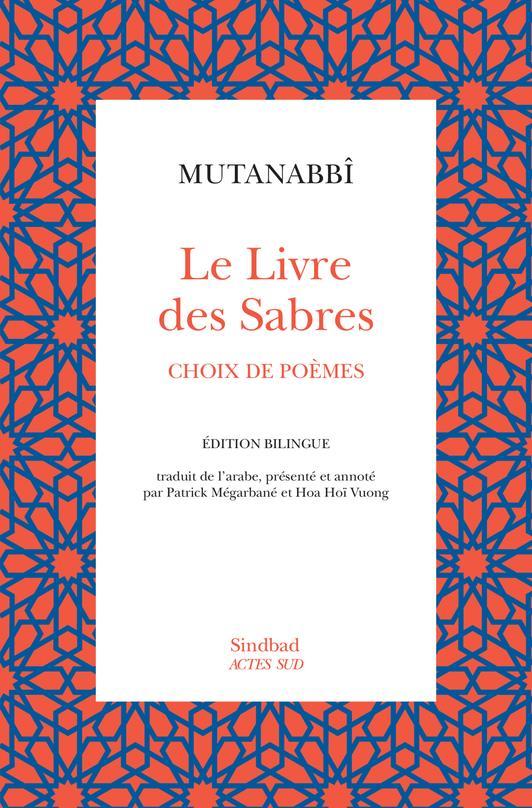 le livre des sabres ; choix de poèmes