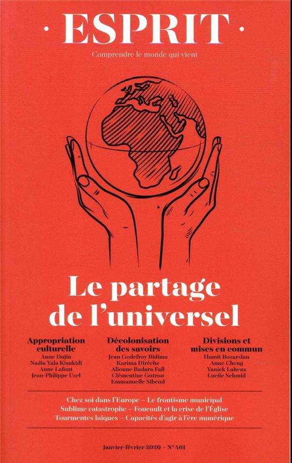 Esprit N.460 ; Janvier-Fevrier 2019 ; La Querelle Des Universels