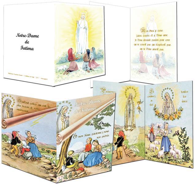 images saintes ; Notre Dame de Fatima