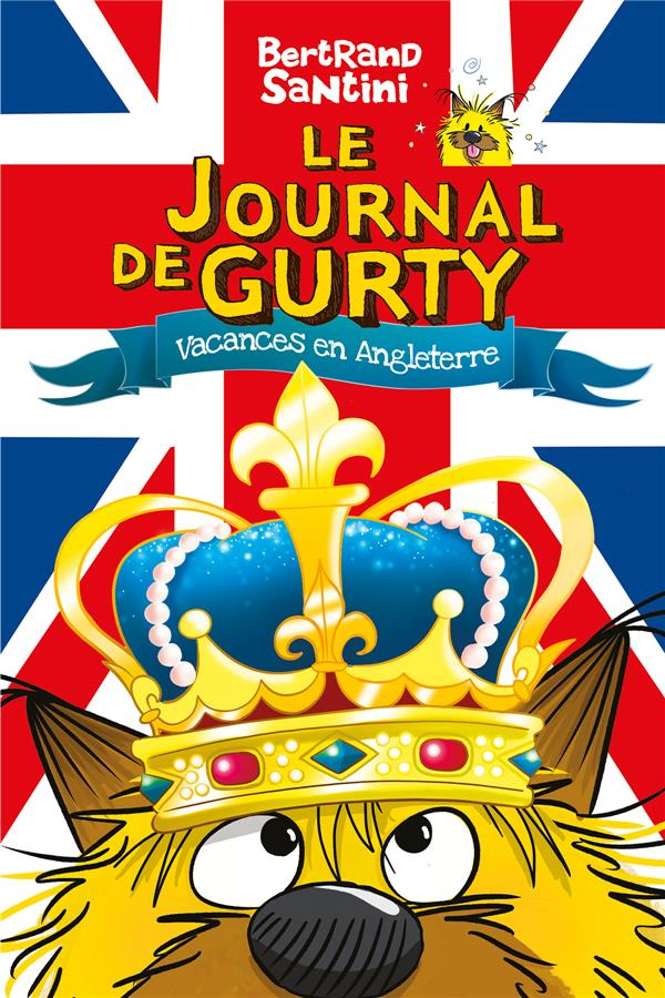 le journal de Gurty t.10 ; voyage en Angleterre