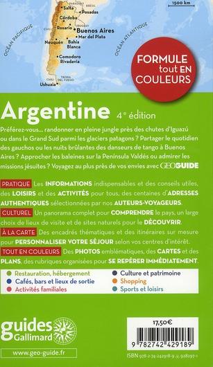 GEOguide ; Argentine
