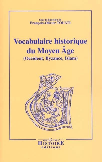vocabulaire historique du moyen age ; 3e edition