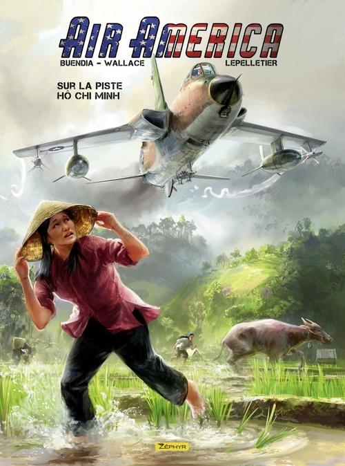 Air America - tome 1 - Sur la piste Ho Chi Minh T1/2