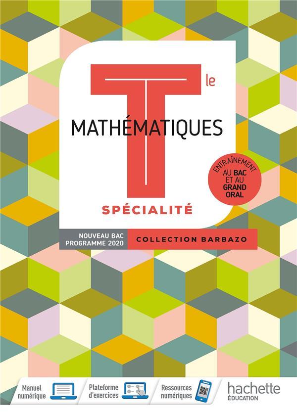 Mathématiques ; terminale ; livre élève (édition 2020)