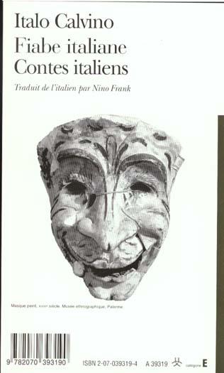 Contes italiens / fiabe italiane