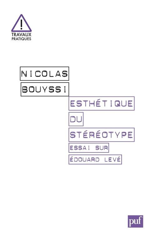 Esthétique du stéréotype ; essai sur Edouard Levé