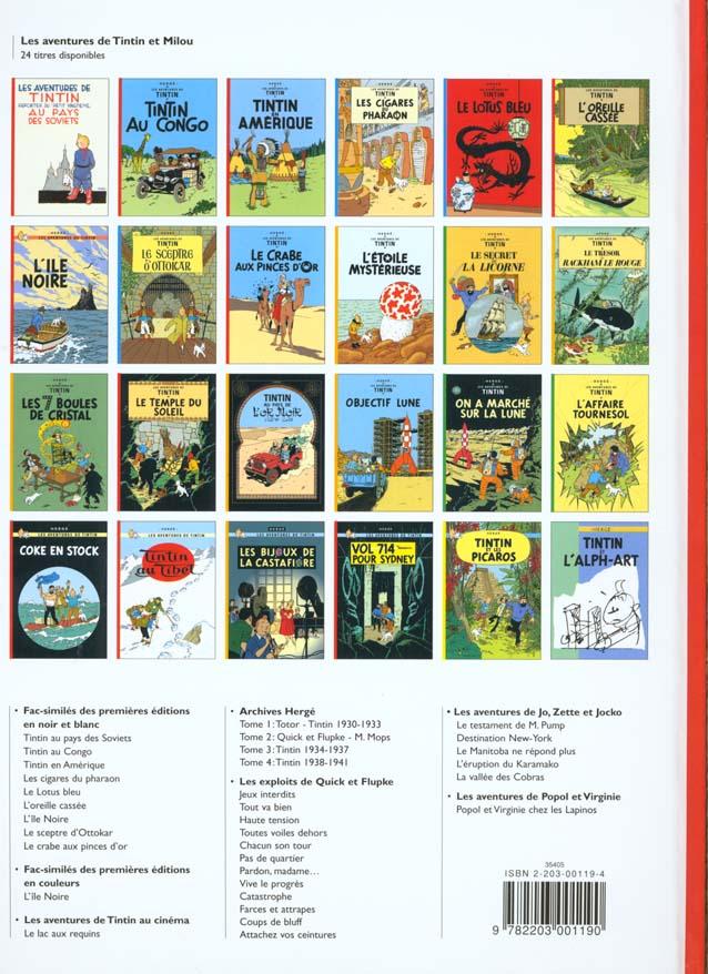 Les aventures de Tintin t.20 ; Tintin au Tibet