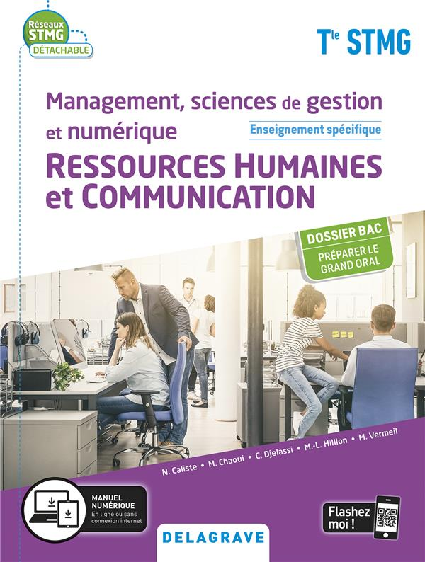 Réseaux STMG ; management, sciences de gestion et numérique - ressources humaines et communication enseignemetn spécifique ; terminale STMG ; pochette élève