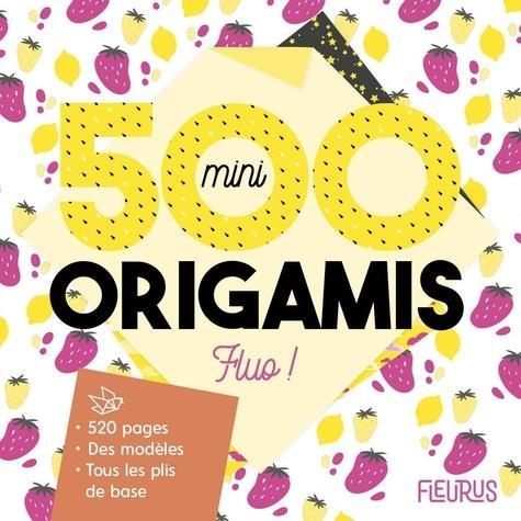 500 MINI ORIGAMIS FLUO