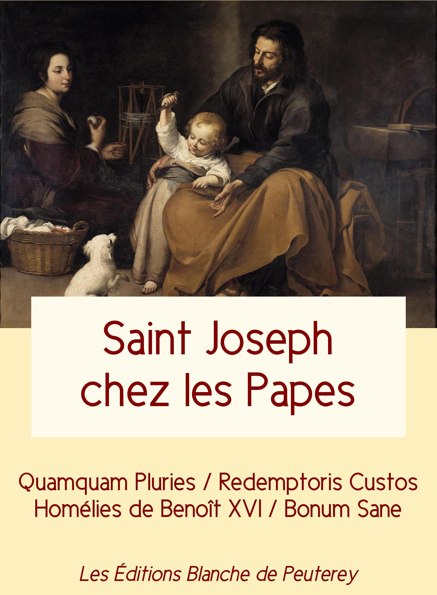 Saint Joseph chez les Papes