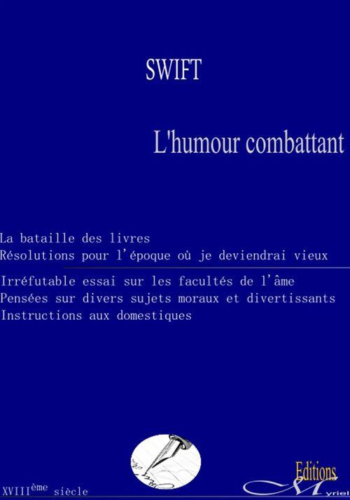Vente EBooks : L'humour combattant  - Jonathan Swift