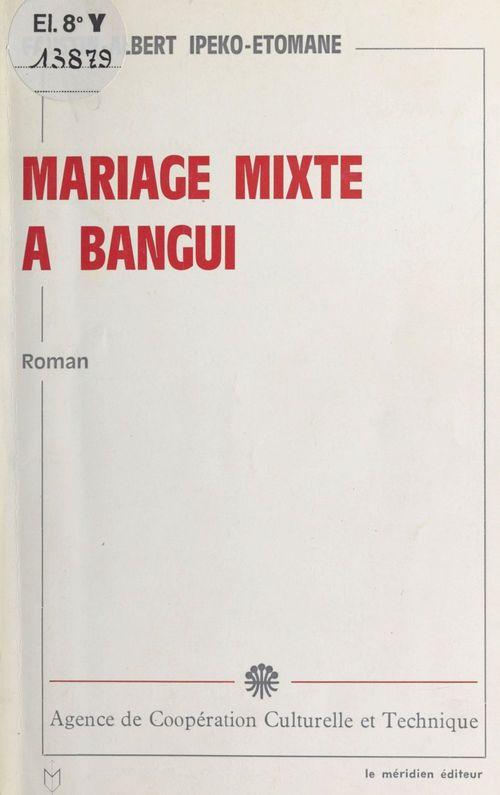 Mariage mixte à Bangui