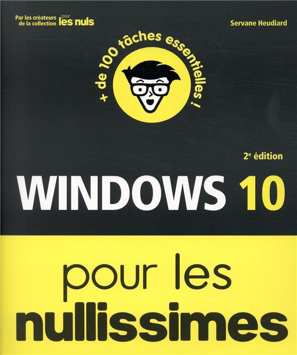 Windows 10 pour les nullissimes (2e édition)