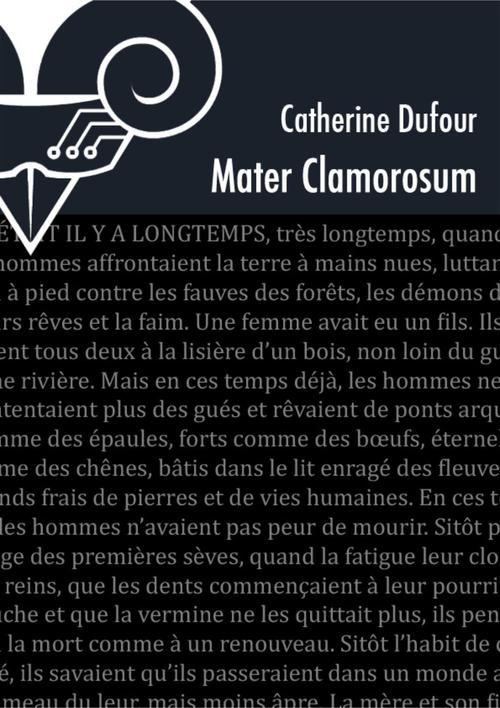 Mater clamorosum