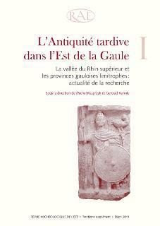 Revue archeologique de l'est n.30 ; l'antiquite tardive dans l'est de la gaule t.1