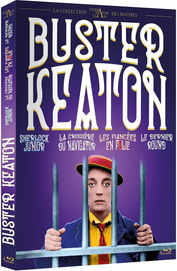 Coffret Buster Keaton 4 films