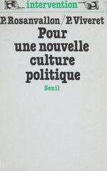 Vente Livre Numérique : Pour une nouvelle culture politique  - Pierre Rosanvallon - Patrick Viveret