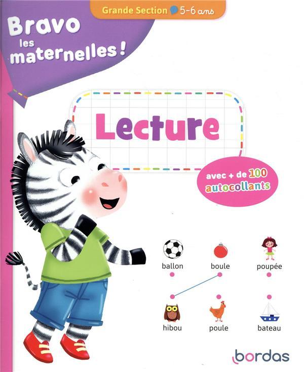 Bravo les maternelles ! ; lecture ; grande section ; 5/6 ans (édition 2020)