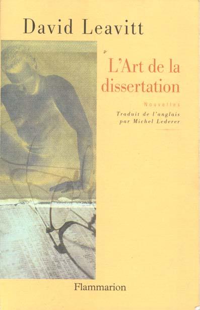 L'art de la dissertation