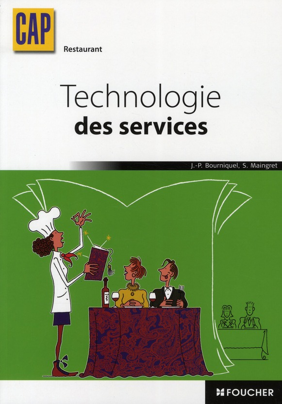 Technologie Des Services ; Cap Restaurant ; Manuel