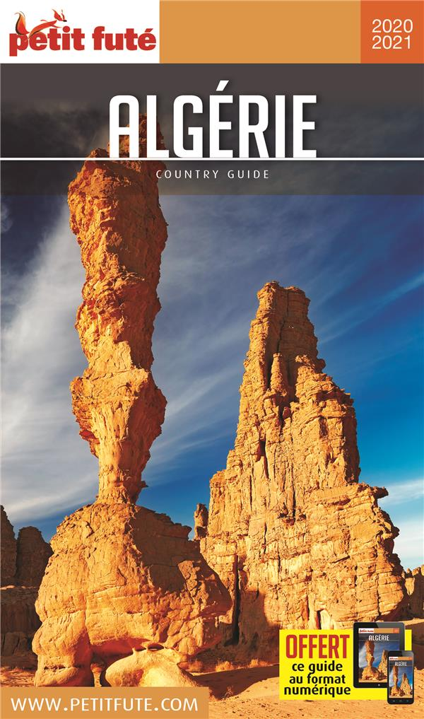 GUIDE PETIT FUTE ; COUNTRY GUIDE ; Algérie (édition 2020/2021)