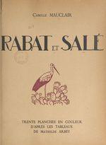 Rabat et Salé  - Camille Mauclair