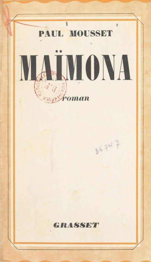 Maïmona  - Paul Mousset
