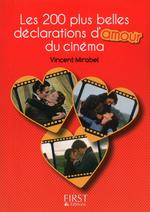Vente EBooks : Petit Livre de - Les 200 plus belles répliques d'amour du cinéma  - Vincent MIRABEL