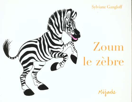 Zoum le zebre poche