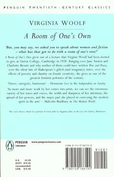 Room of one s own