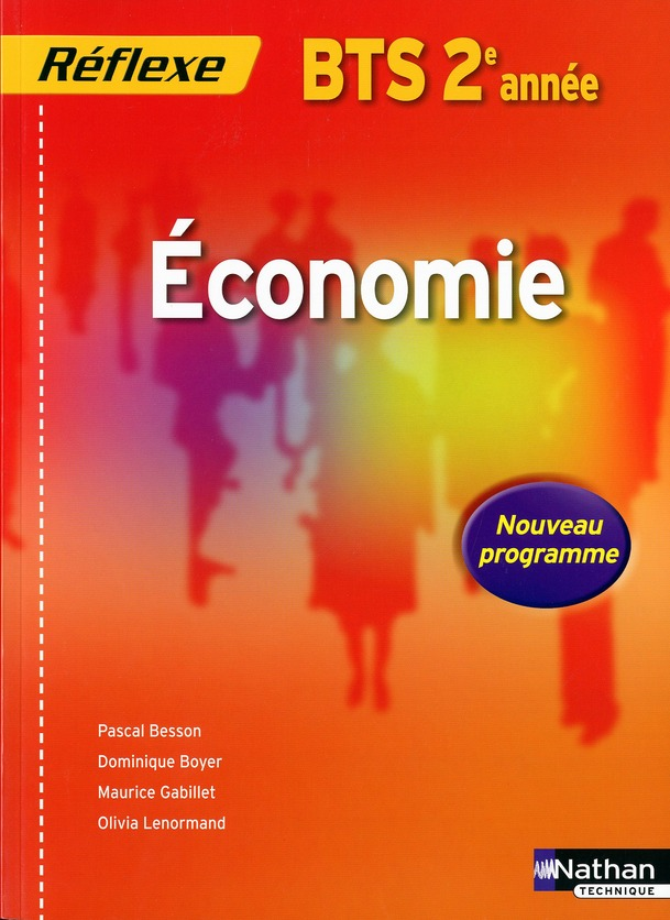 Economie ; Bts 2eme Annee ; Livre De L'Eleve