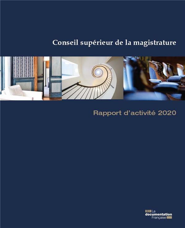Rapport d'activité 2020 du conseil supérieur de la magistrature