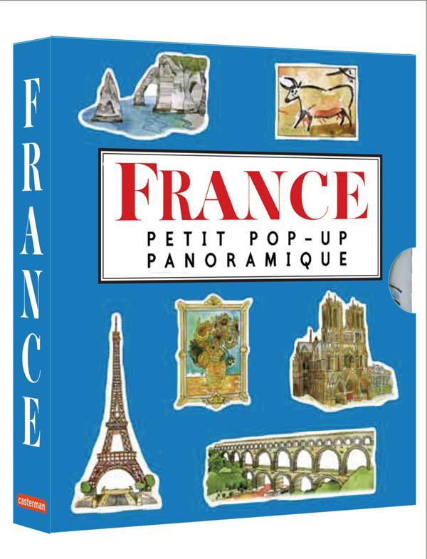 Petit pop-up panoramique ; la France