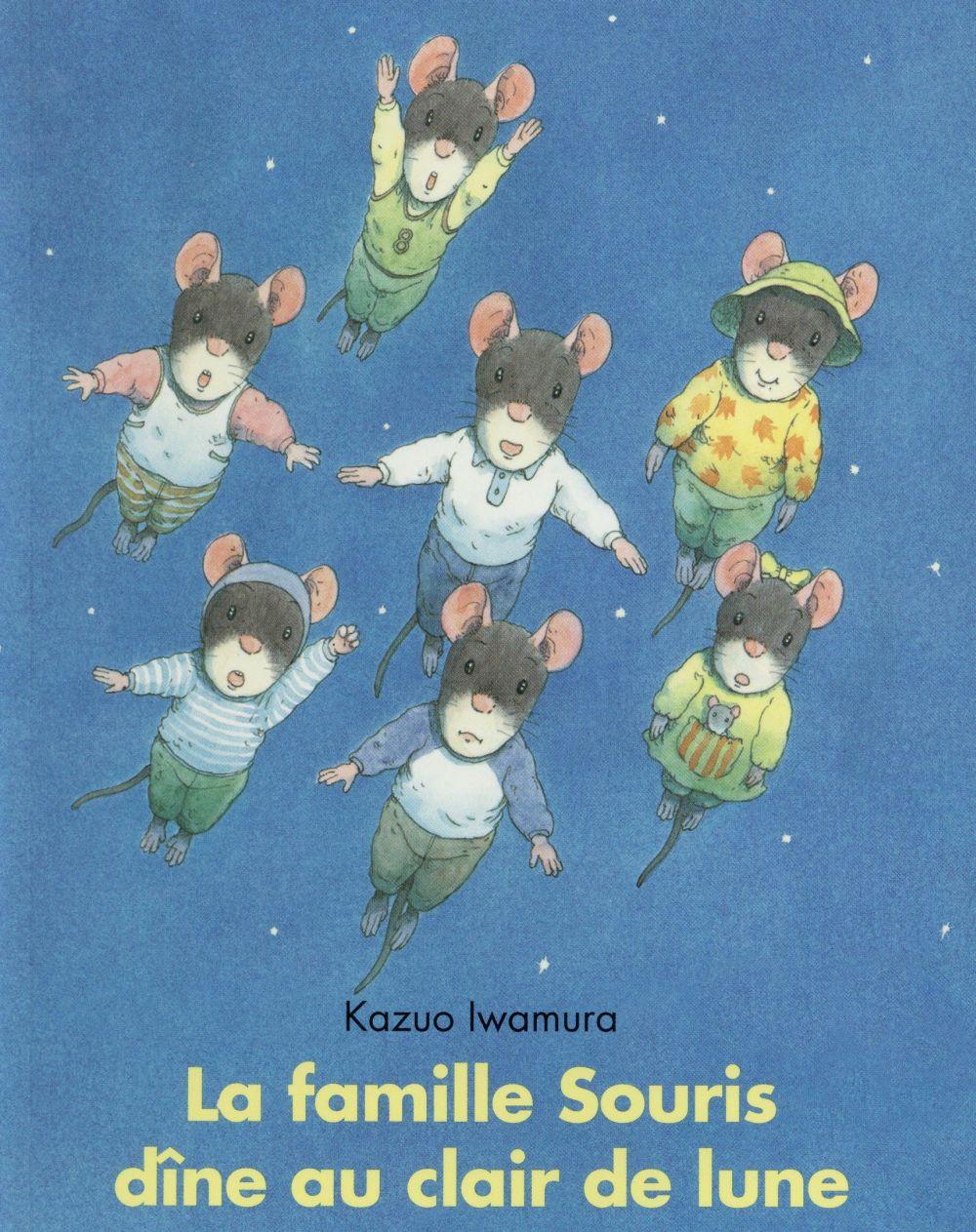 La famille souris dine au clair de lune