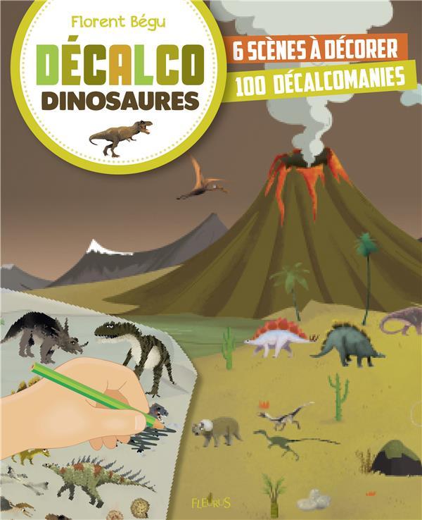 DECALCO ; dinosaures