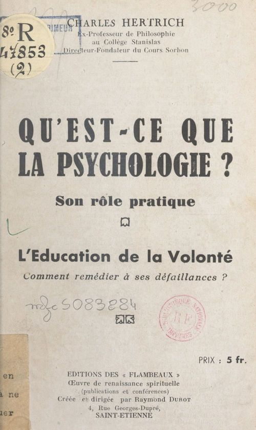 Qu'est-ce que la psychologie ? Son rôle pratique