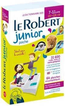 Dictionnaire le Robert junior ; CE, CM, 6e ; 7-11 ans (édition 2020)
