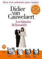 Vente AudioBook : Les témoins de la mariée  - Didier van Cauwelaert