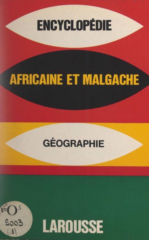 Encyclopédie africaine et malgache