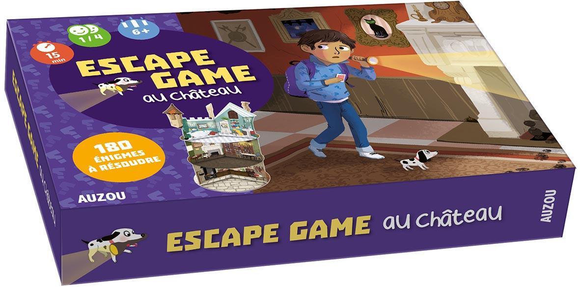 Mes premières enquêtes ; escape game au château ; mon grand jeu