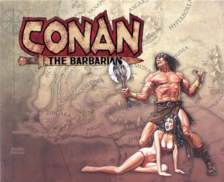 Conan le Barbare T.1