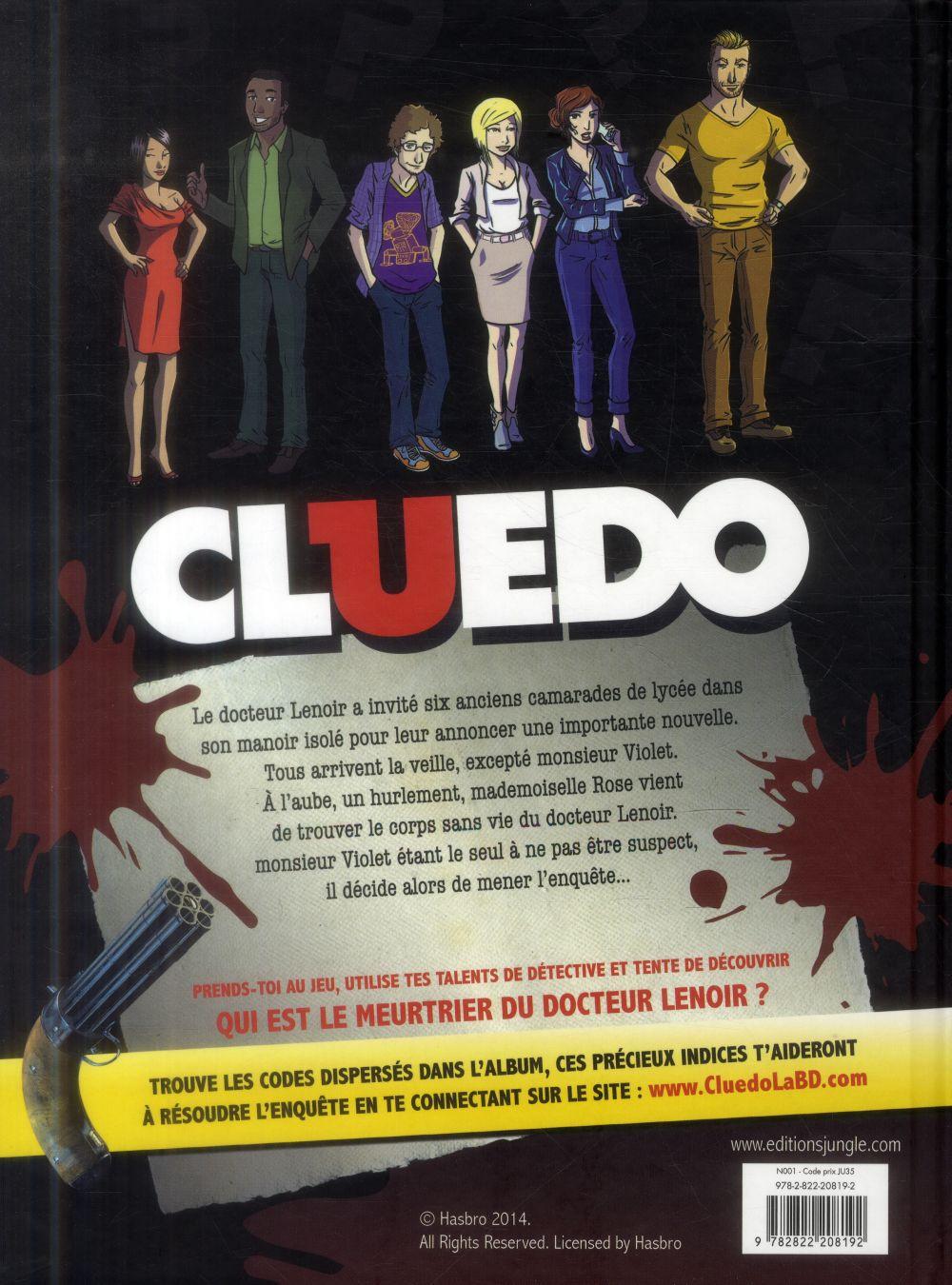 Cluedo t.1 ; un crime presque parfait !